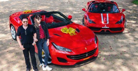 Poonawalla Ferrari Featured