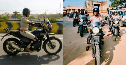 Royal Enfield Himalayan Bangalore Police Featured