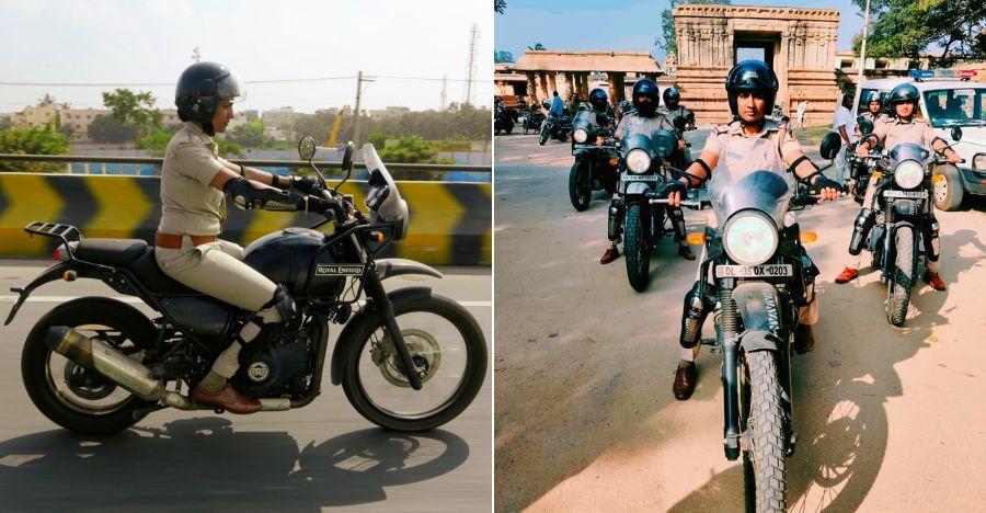 Bangalore woman cops get Royal Enfield Himalayan motorcycles