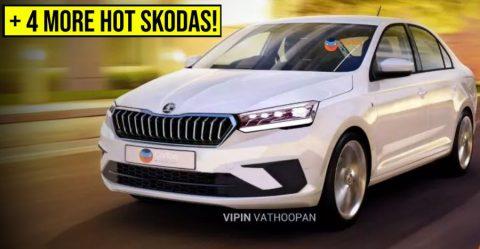Skoda Upcoming Cars Featured