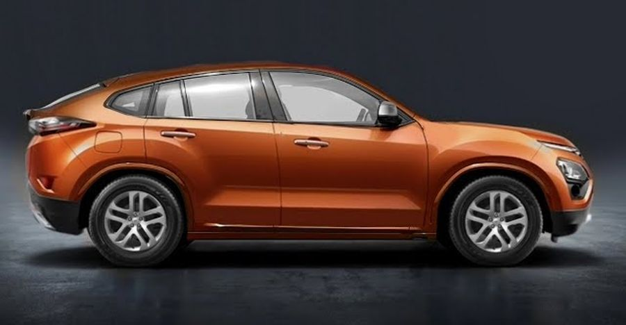 Tata Harrier Coupe SUV: What it could look like