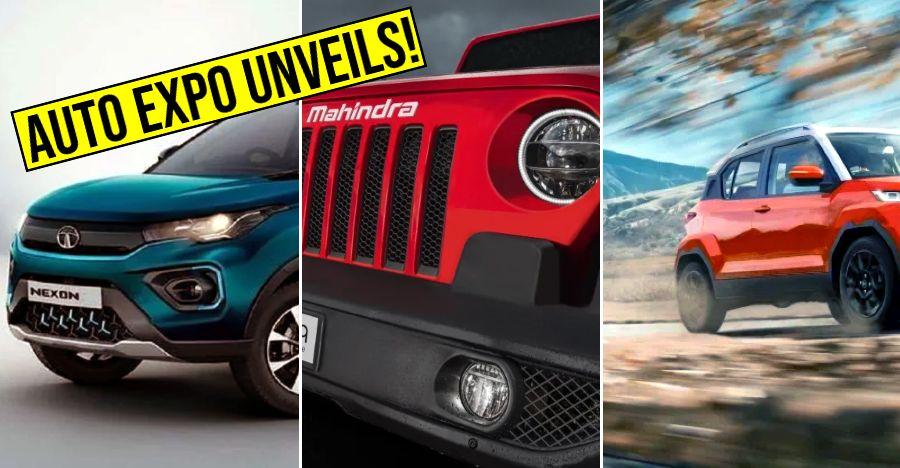 Tata Mahindra Auto Expo Featured