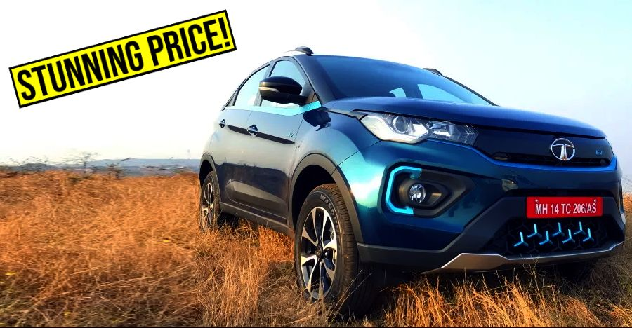 Tata Nexon EV launched: India's most AFFORDABLE electric SUV is here