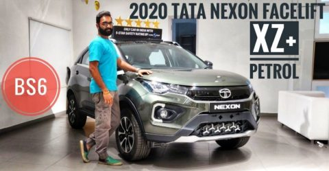 Tata Nexon Top End Petrol Featured