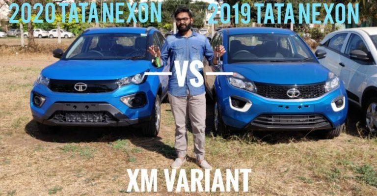 Tata Nexon Vs Facelift Nexon