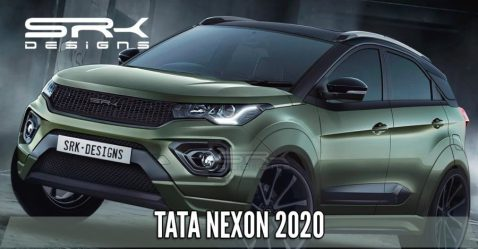 Tata Nexon Wide Body Render Featured