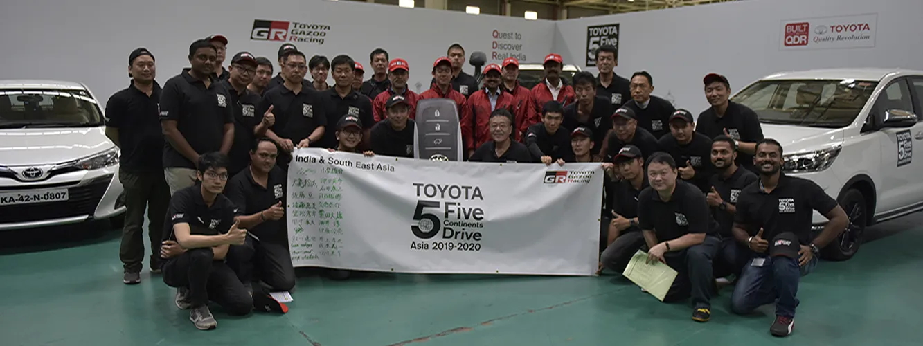 Toyota 5 Continent Featured