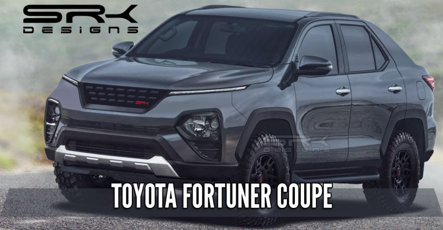 Toyota Fortuner in coupe SUV form: What it'll look like [Video]