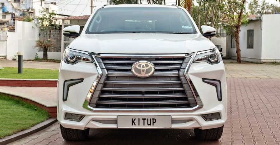 Toyota Fortuner with the KitUp body kit wants to be a Lexus!