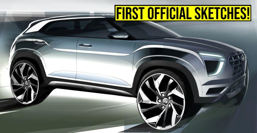All-new 2020 Hyundai Creta: Sketches released ahead of Auto Expo launch