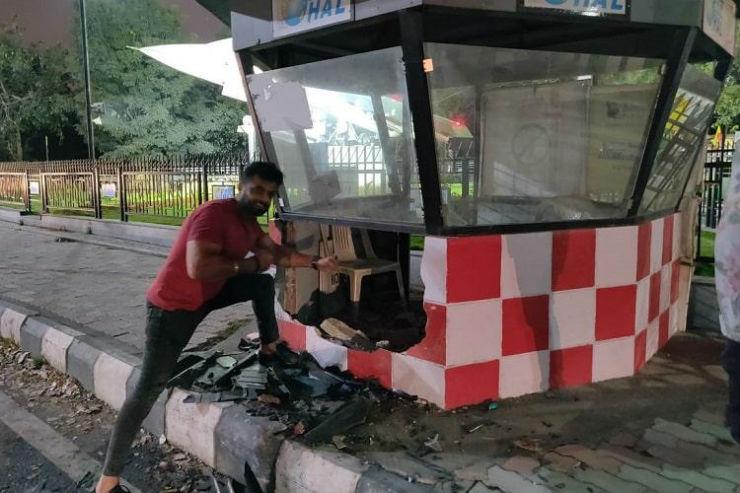 Kecelakaan Lamborghini Gallardo (Cartoq)