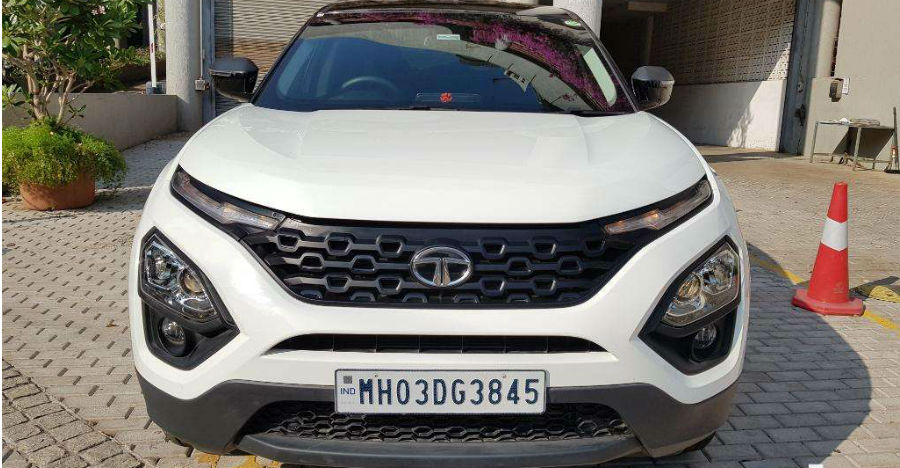 Almost-new used Tata Harrier mid-size SUVs for sale: CHEAPER than new