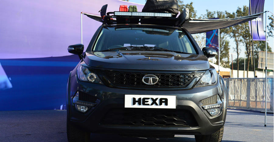 Tata Hexa BS6 coming to the Auto Expo: Details