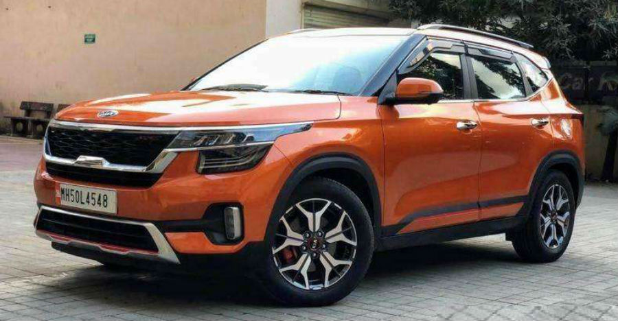 Almost-new used Kia Seltos compact SUV for sale: CHEAPER than new
