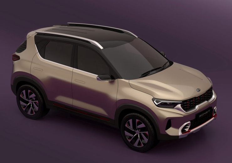 Kia Sonet sub-4 meter compact SUV: In images