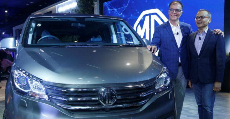 Mg Motor India Pr Auto Expo February '20 G10