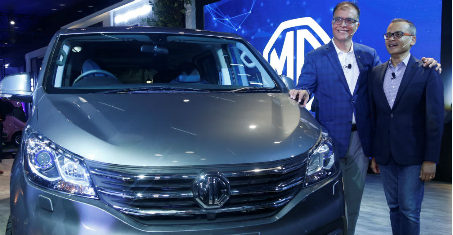 MG G10 MPV unveiled to take on Toyota Innova Crysta in India