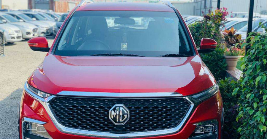 Almost-new MG Hector SUVs for sale: CHEAPER than new without any waiting period