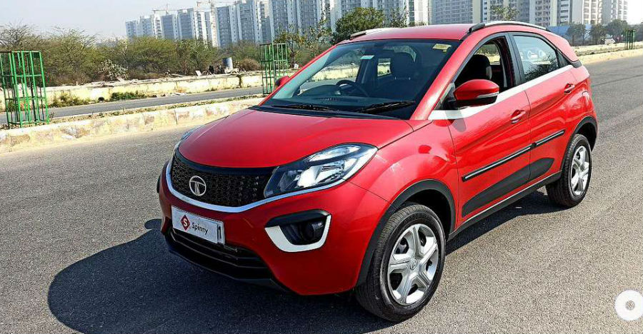 Almost-new used Tata Nexon sub-4m compact SUVs for sale: CHEAPER than new