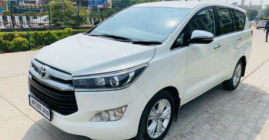 Almost-new used Toyota Innova Crysta MPVs for sale: A LOT cheaper than new