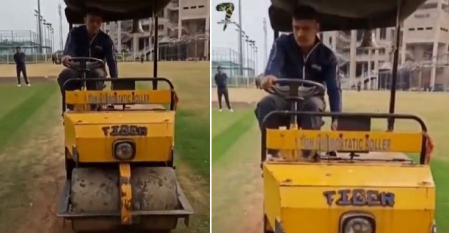 Dhoni Road Roller Featured