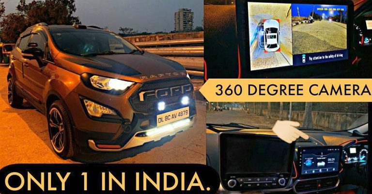 Ford Ecosport 360 Degree Camera Featured