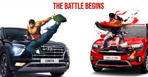 Hyundai Creta Vs Kia Seltos Featured