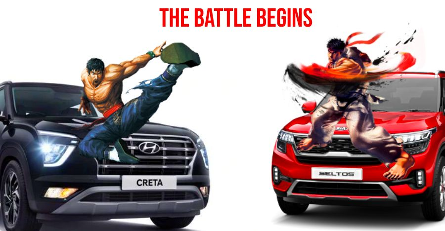 Hyundai Creta Vs Kia Seltos Featured
