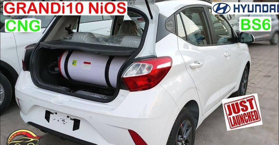 Hyundai Grand i10 NIOS CNG in a video walkaround