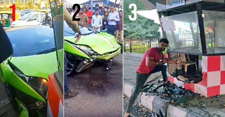 Lamborghini Crash Hal Bangalore Featured