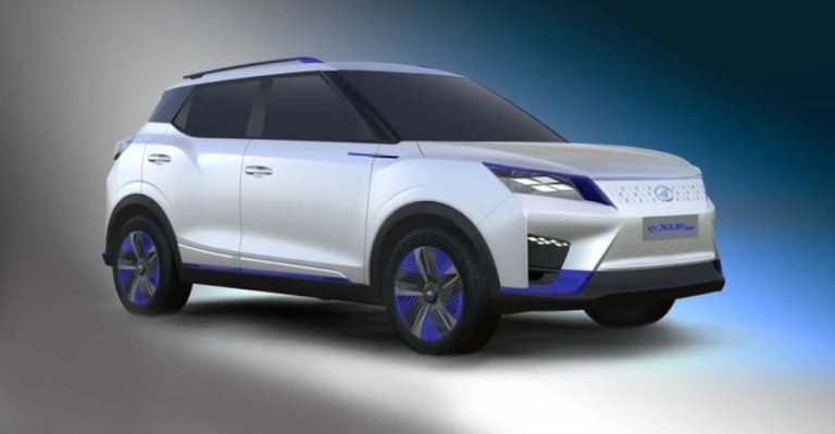 Mahindra Exuv300 Electric Suv Featured