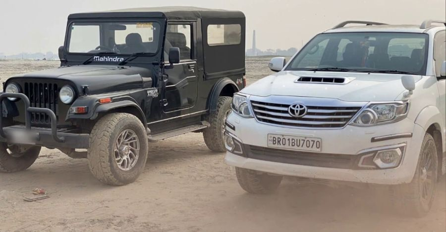 Mahindra Thar Vs Toyota Fortuner Featured