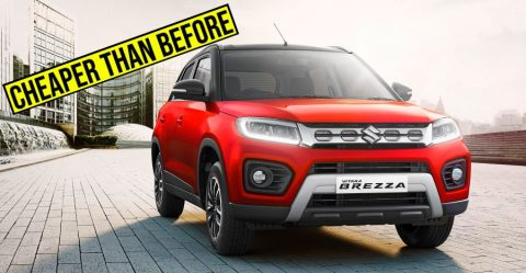 Maruti Brezza Facelift Launch Featured