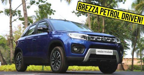 Maruti Brezza Petrol Facelift Review