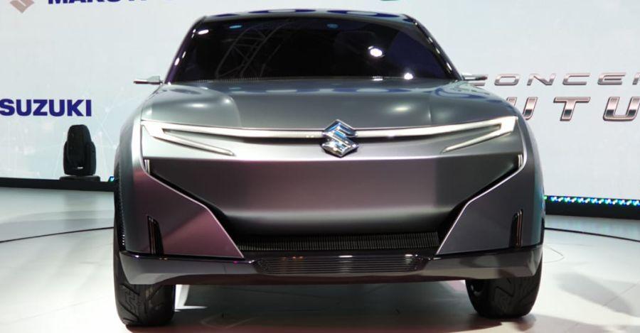 Maruti Futuro-E electric SUV concept revealed at the Auto Expo 2020