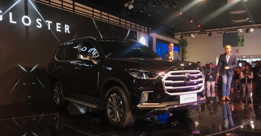 MG Gloster luxury SUV unveiled at the Auto Expo 2020: Toyota Fortuner challenger
