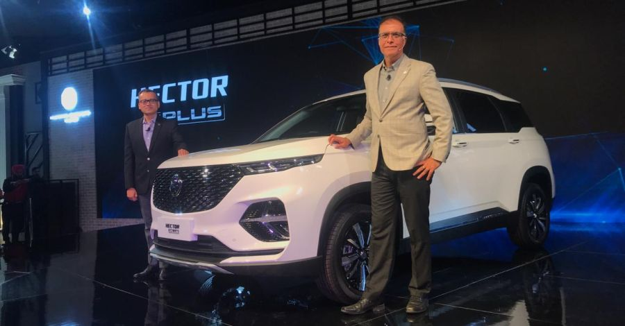 Mg Hector Plus Featured