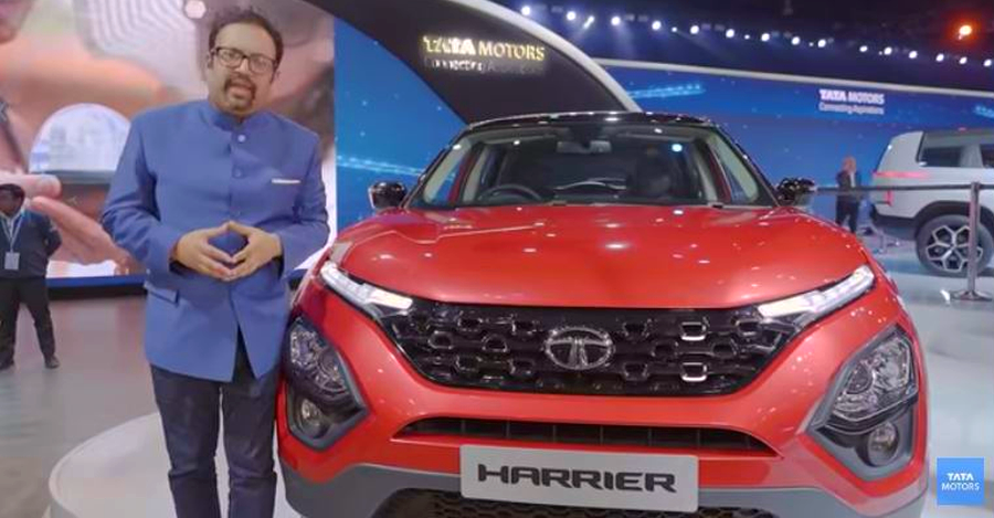 Pratap Bose With Tata Harrier Automatic Featured
