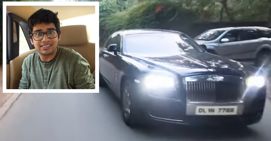 Rolls Royce Ghost II for a day, for a 27-year old! [Video]