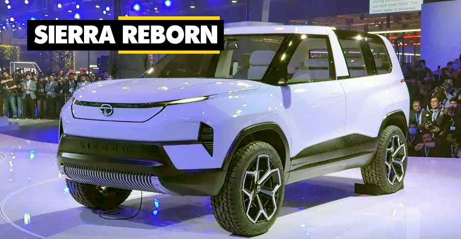 Tata Sierra is back as a concept: But is a launch likely?