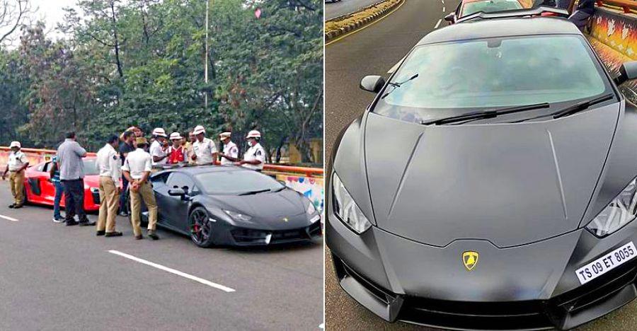 Lamborghini Huracan and Audi R8 supercars SEIZED for street racing