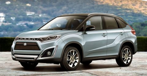 Suzuki Vitara Render Featured