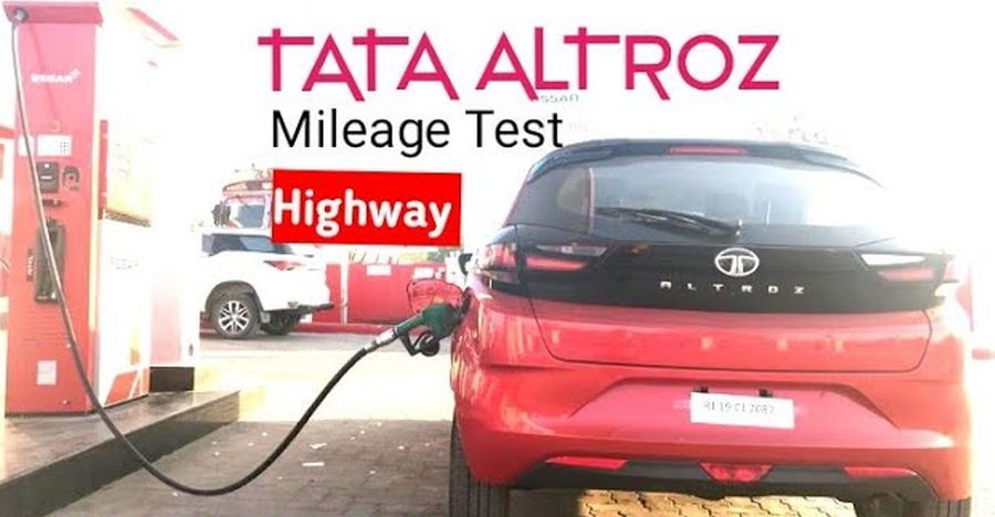 Tata Altroz Petrol mileage test in the city & on the highway [Video]