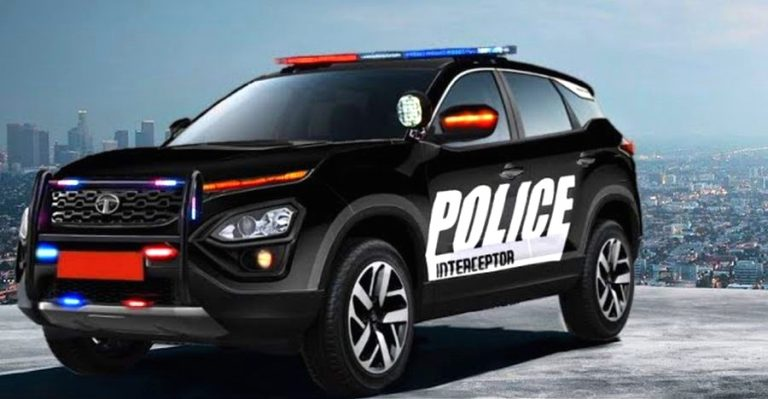 Tata Harrier Police Car Render Featured