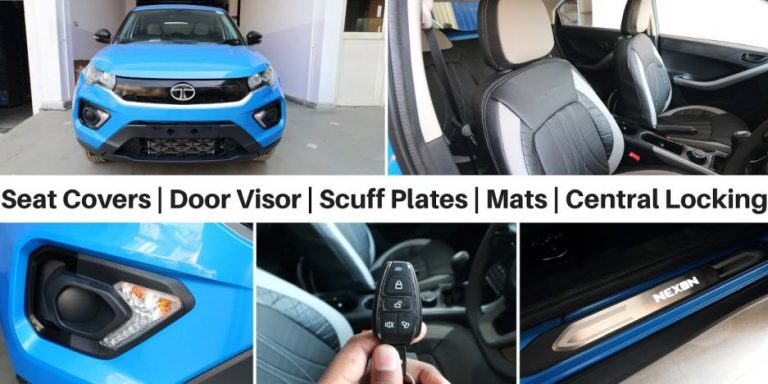 Tata Nexon Facelift Accessories Featured