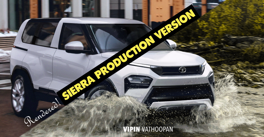 All-new Tata Sierra: What the production version could look like