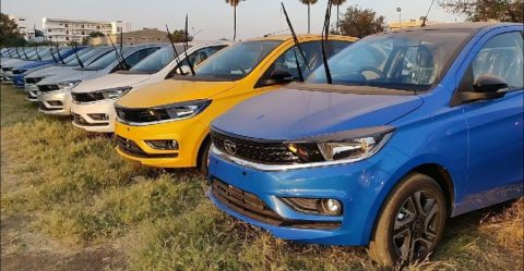 Tata Tiago Facelift Colours