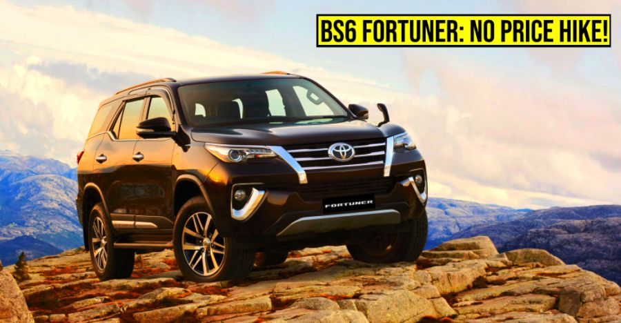 Toyota Fortuner Bs6 Featured