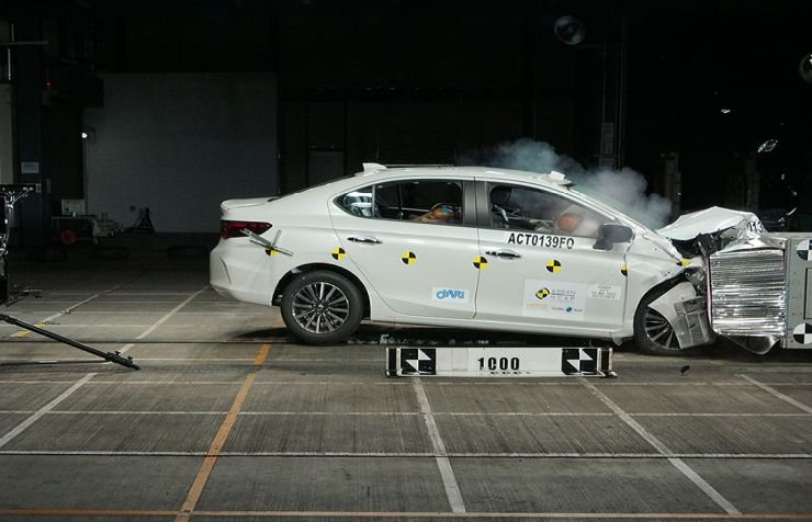 All-new Honda City scores 5-star safety rating in ASEAN NCAP test