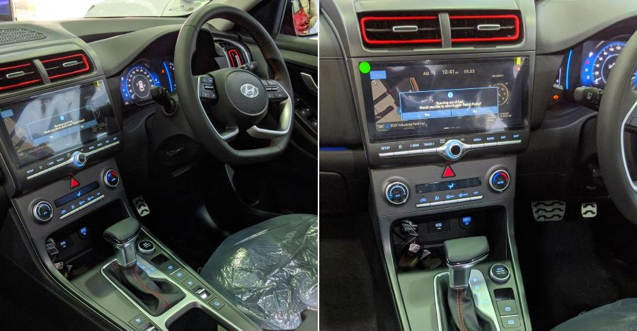 2020 Hyundai Creta: First live images of the SUV's interiors